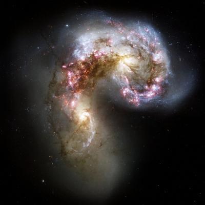 Antennae Galaxies, HST Image