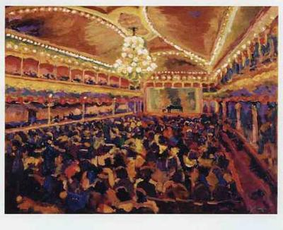Antes del Concierto-Bautista-Art Print