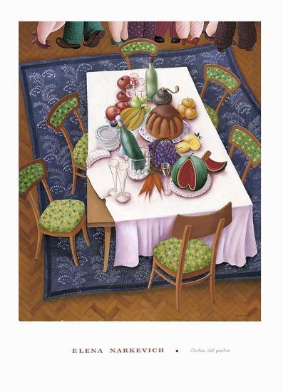 Antes del Postre-Elena Narkevich-Art Print