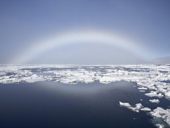 Anthelion, Svalbard Islands, Arctic, Norway, Europe-James Hager-Photographic Print