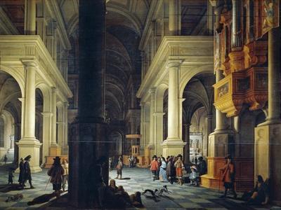 Interior of Temple