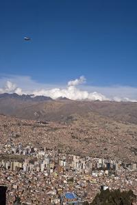 Cityscape from El Alto viewpoint, La Paz, Bolivia by Anthony Asael