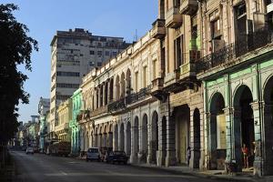 Cuba, La Havana, Havana Vieja, Old Colonial Buildings by Anthony Asael