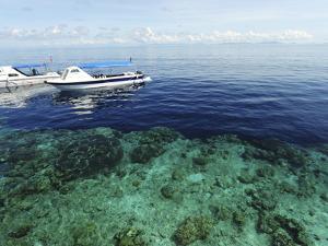 Diving Boat, Sipadan, Semporna Archipelago, Borneo, Malaysia by Anthony Asael