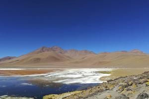 Spectacular view of Laguna Colorada, Reserva Eduardo Avaroa, Bolivian desert, Bolivia by Anthony Asael