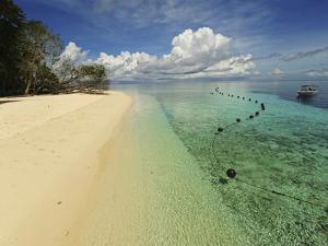 White Sand Beach, Semporna Archipelago, Sipadan, Malaysia by Anthony Asael