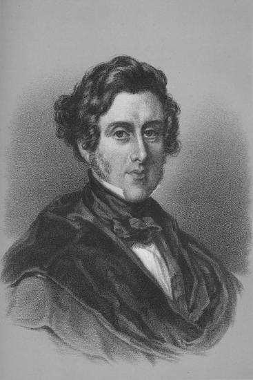 Anthony Ashley Cooper, 7th Earl of Shaftesbury, British politician, mid 19th century-Unknown-Giclee Print