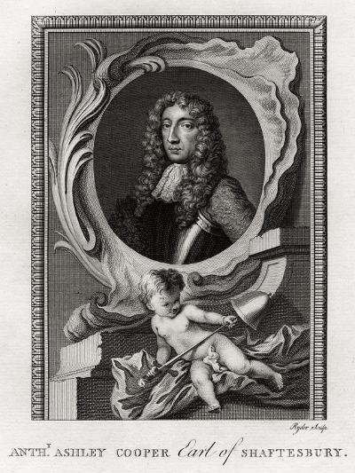 Anthony Ashley Cooper, Earl of Shaftesbury, 1777-Ryder-Giclee Print