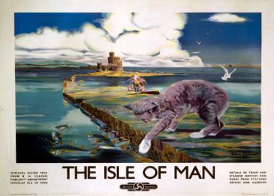 The Isle of Man, BR (LMR), c.1950 by Anthony Brandt