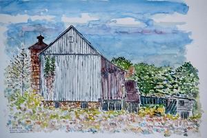 Barn, Sandy Hill Rd, Pa., 2003 by Anthony Butera