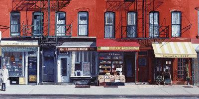 Four Shops on 11th Avenue, New York, c.2003