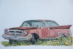 Old Chrysler, 1999 by Anthony Butera