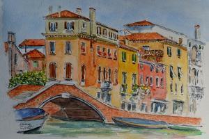 Venice, Canal, Dorsoduro, 2015 by Anthony Butera