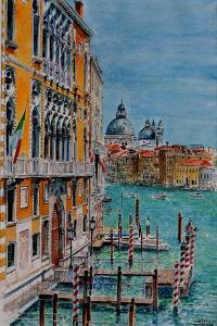 Venice, View from Academia Bridge, June 2016 by Anthony Butera