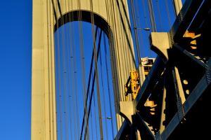 Verrazano Narrows Bridge Tower, 2017, (Photograph) by Anthony Butera