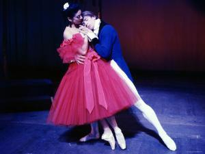 Rudolf Nureyev and Margot Fonteyn in Frederick Ashton's Marguerite and Armand, England by Anthony Crickmay