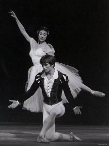 Rudolf Nureyev and Margot Fonteyn in Giselle, England by Anthony Crickmay