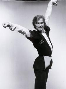 Rudolf Nureyev Rehearsing For a Televised Performance of Gayane by Anthony Crickmay