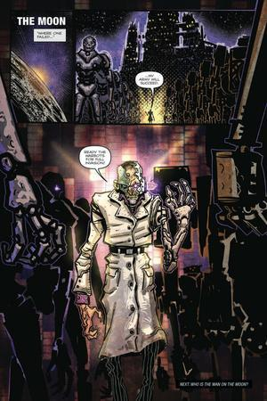 Zombies vs. Robots: Volume 1 - Comic Page with Panels