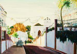 Street in Maro, Spain by Anthony Fandino