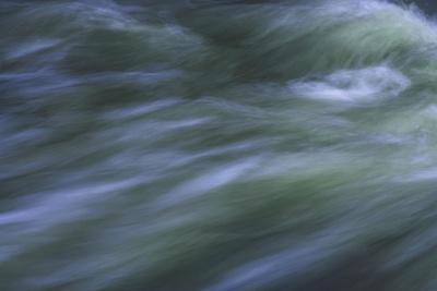 Blurred Racing Greenish Water