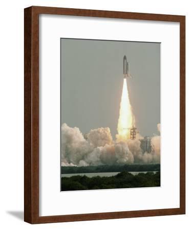Space Shuttle Blast Off