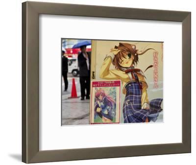 Comics for Sale Sign, Akihabara
