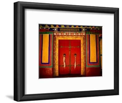 Decorated Doorways, Norbulingka (Dalai Lama's Summer Palace), Lhasa, China