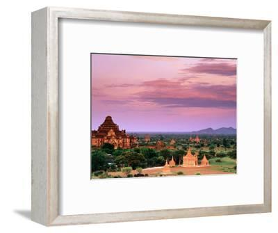 Pink Sky From Swesandaw Paya, Bagan, Myanmar (Burma)