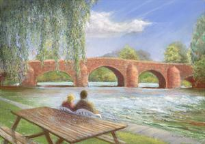 Bridge over Troubled Water, 2002 by Anthony Rule