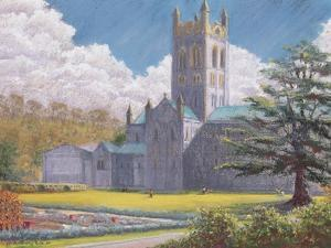 Early Spring, Buckfast Abbey, 2001 by Anthony Rule