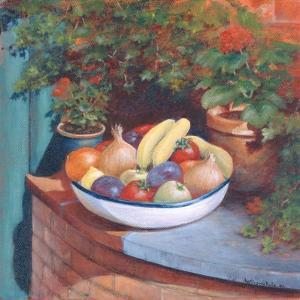 Fruit and Veg Al Fresco, 2003 by Anthony Rule