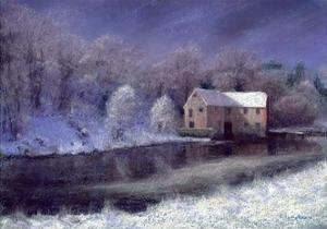 Midwinter at the Mill, 2010 by Anthony Rule