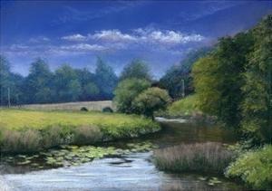 Quiet Flows the Stour, 2006 by Anthony Rule