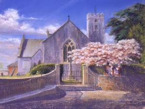Springtime at St Mary'S, 2004 by Anthony Rule