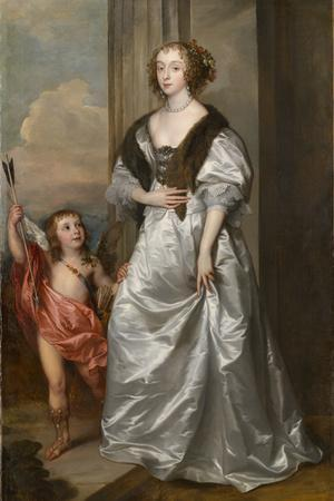 Lady Mary Villiers, Later Duchess of Richmond and Lennox , with Charles Hamilton, Lord Arran, 1637