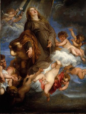 Saint Rosalie Interceding for the Plague-stricken of Palermo, 1624