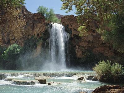 Harasu Falls, Grand Canyon, Arizona, USA