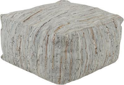 Anthracite Pouf - Grey