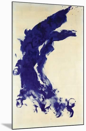 Anthropometrie (ANT 130), 1960-Yves Klein-Mounted Print