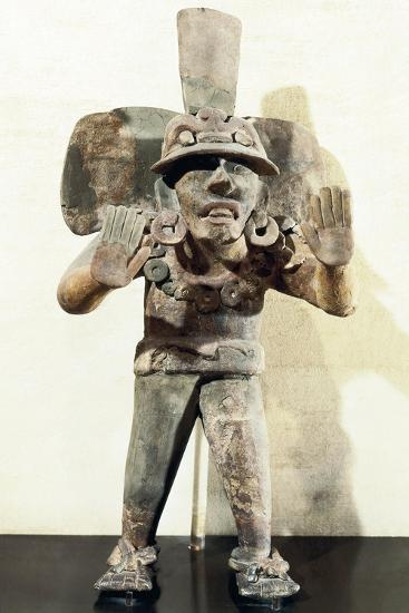 Anthropomorphic Clay Funerary Urn--Giclee Print