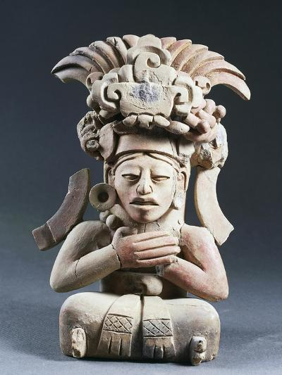 Anthropomorphic Funerary Urn, Terracotta, from Mexico--Giclee Print