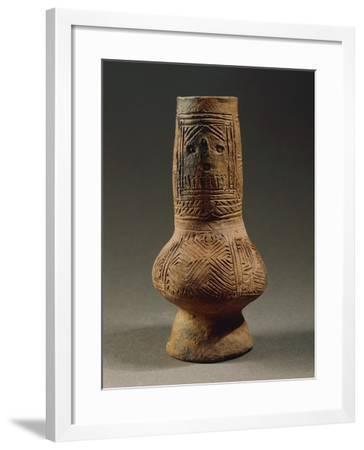 Anthropomorphic Terracotta Vase, from Szegvar-Tuzkoves--Framed Giclee Print