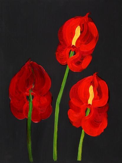 Anthurium-Deborah Barton-Giclee Print