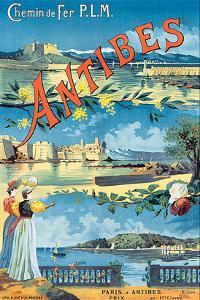Antibes, Chemin de Fer P.L.M.