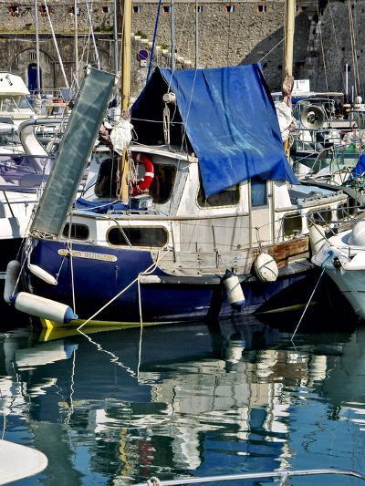 Antibes Harbor II-Rachel Perry-Photographic Print