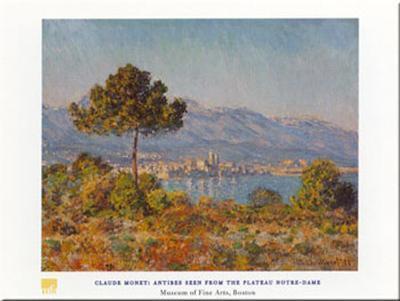 Antibes- Notre-dame-Claude Monet-Art Print