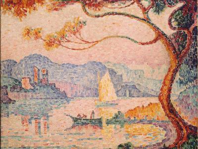 Antibes, Petit Port de Bacon, 1917-Paul Signac-Giclee Print