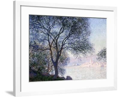 Antibes Seen from the Salis, 1888-Claude Monet-Framed Giclee Print