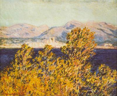 Antibes View of the Cap Mistral Wind, c.1888-Claude Monet-Art Print